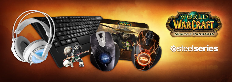 SteelSeries Mists of Pandaria Celebration