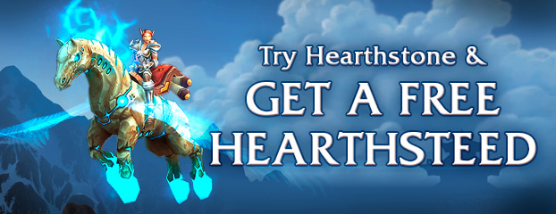 Hearthstone Is Live! Time to Ride into Action on Your Hearthsteed