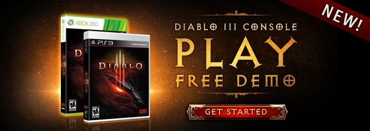 Diablo III Console – Play FREE