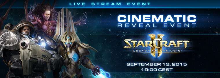 Save the Date, you're invited to a Legacy of the Void World Premiere!