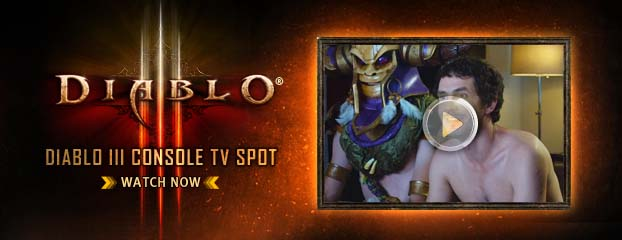 Diablo III Console – TV Spot Revealed