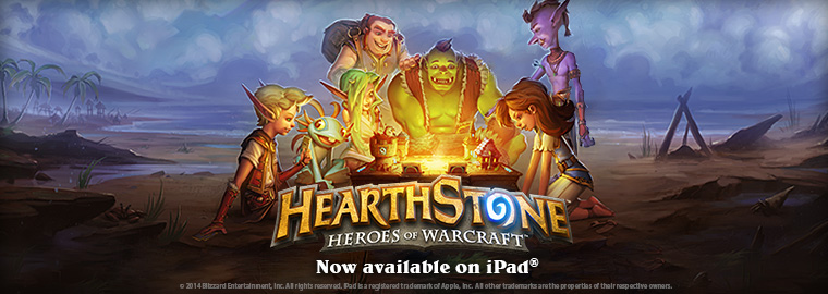 Hearthstone Now Available on iPad!