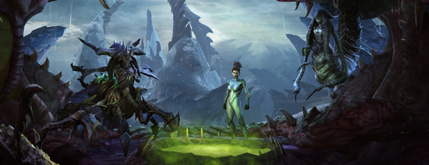 StarCraft II Game Guide Updated – New Planets and Characters