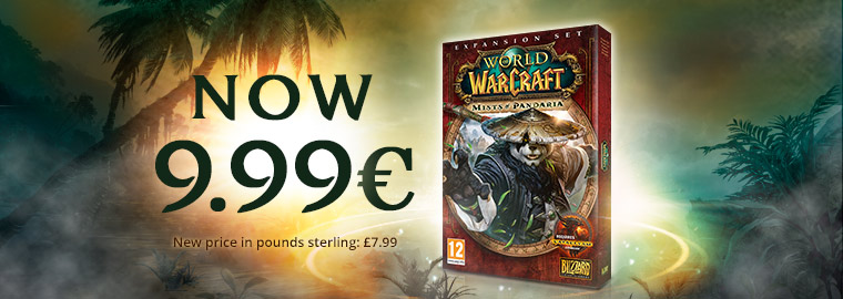 World of Warcraft: Mists of Pandaria – Now Only €9.99!