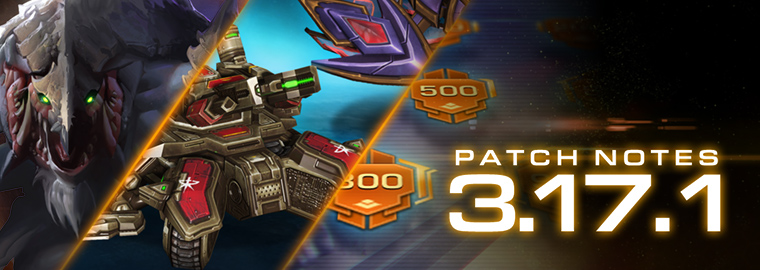 StarCraft II: Legacy of the Void 3.17.1 Patch Notes