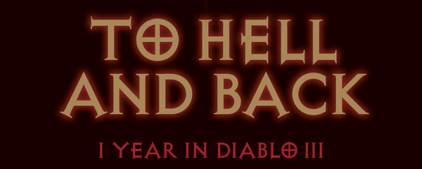 Diablo III's One-Year Anniversary Infographic