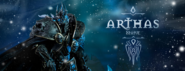 Sideshow Unveils Arthas Statue -- Pre-Orders Now Open