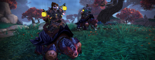 Pandaren Mount Revealed: Dragon Turtle