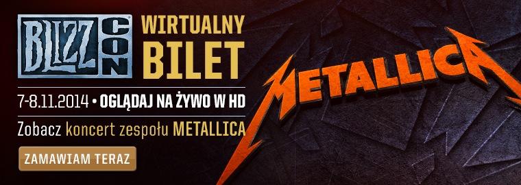 Metallica zagra na BlizzConie 2014