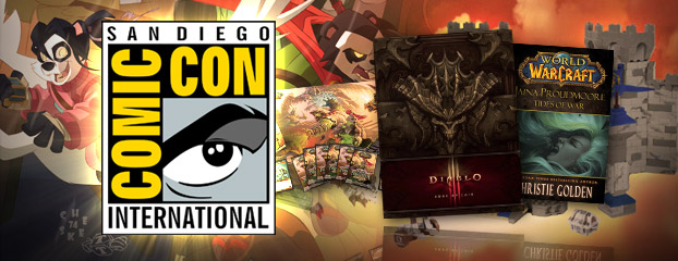Blizzard Entertainment Storms San Diego For Comic-Con 2012