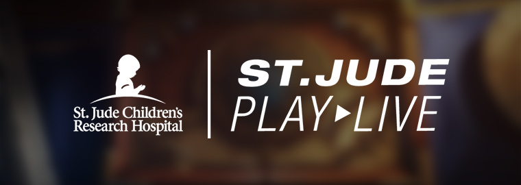 Hearthstone Stream for Charity – St. Jude PLAY LIVE