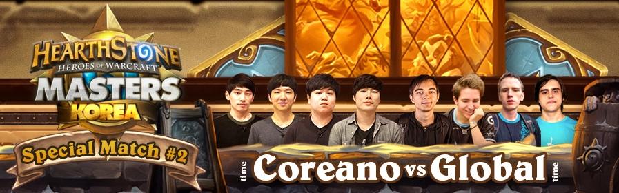 Hearthstone Masters Especial da Coréia Partida #2 - Leomane