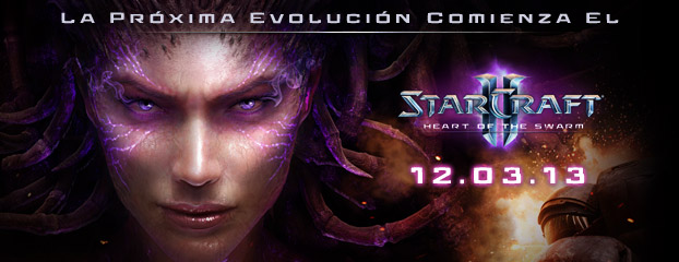 Heart of the Swarm Llega el 12 de marzo, 2013 – Preventa YA DISPONIBLE
