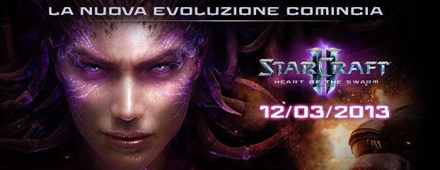 Heart of the Swarm arriva il 12 marzo 2013 - Aperte le prevendite!