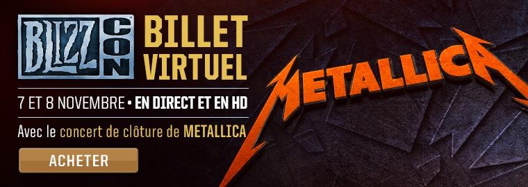 Metallica en concert à la BlizzCon 2014