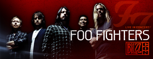 Foo Fighters to Rock the House at BlizzCon 2011