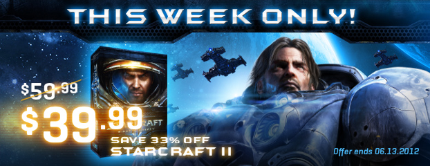 33% Off StarCraft II – This Week Only
