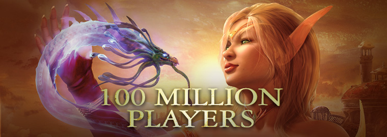Celebrating 100 Million Players