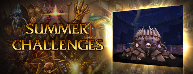Summer Challenge: The Temple of Ahn'Qiraj