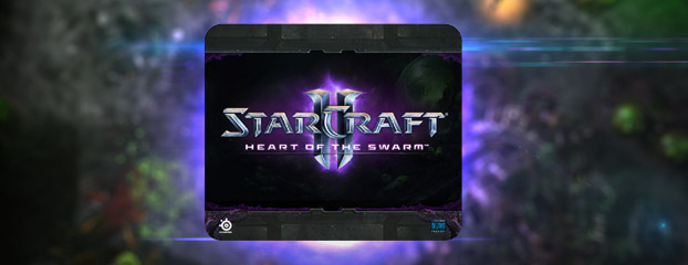 New SteelSeries StarCraft II: Heart of the Swarm Mousepad Available Now