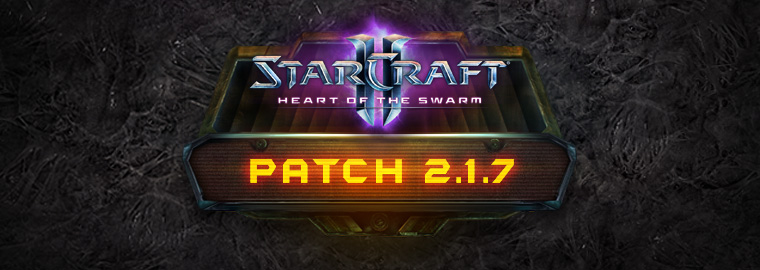 StarCraft II 2.1.7 Patch Notes