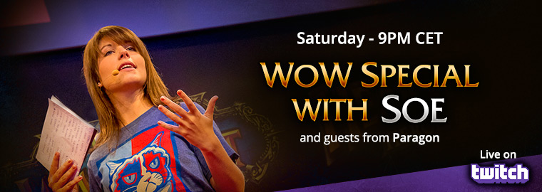 Twitch.tv Presents World of Warcraft Special Show This Weekend