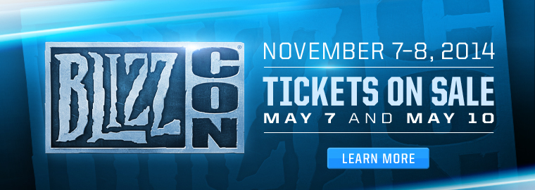 BlizzCon® 2014 Conquers Anaheim November 7 and 8