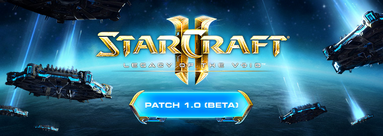 Note della patch 1.0 Beta di StarCraft II: Legacy of the Void
