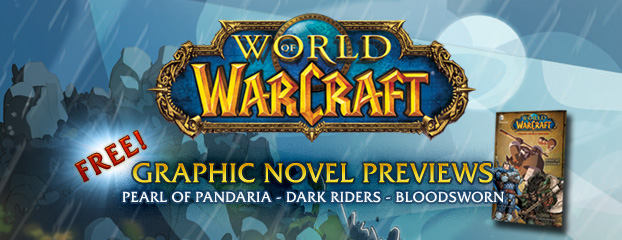 World of Warcraft Comic Free Peek!