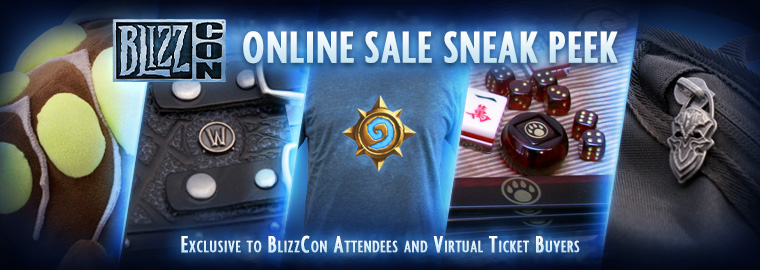 BlizzCon® Merchandise Sale Coming Oct. 11—Get a Sneak Peek Now!