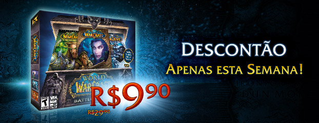Apenas esta Semana - Descontão no Battle Chest de World of Warcraft