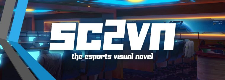 SC2VN: A visual novel about pro-gaming and StarCraft II