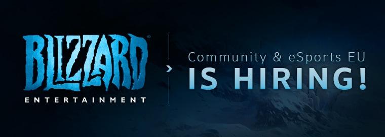 The EU Community & eSports Team is Hiring!