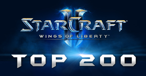 StarCraft II: Top 200