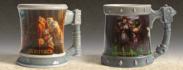 Ironforge and Undercity Mugs Now Available