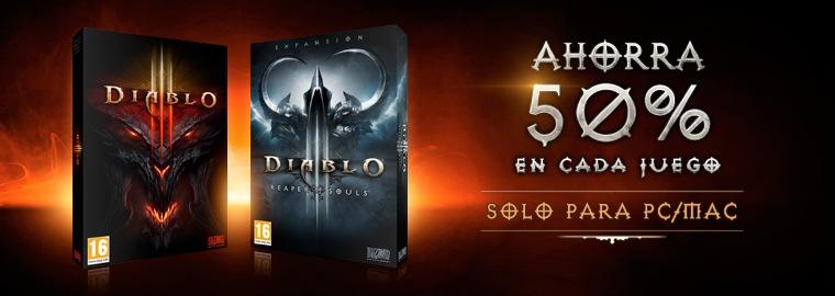 Ahorra un 50% en Diablo III y Reaper of Souls
