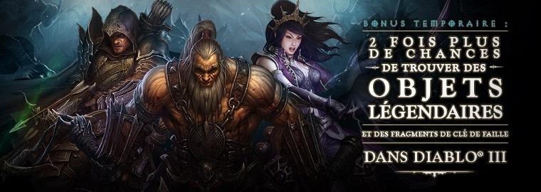 Deux fois plus de bonus pour fêter les deux ans de Diablo III !