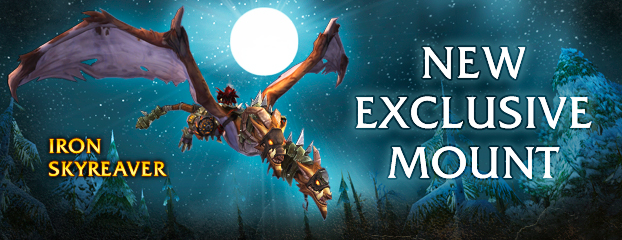 Iron Skyreaver—Exclusive Mount Now Available