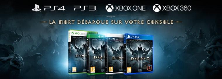 Diablo III: Reaper of Souls – Ultimate Evil Edition est disponible !