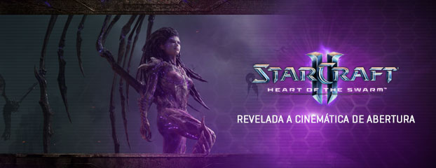 Assista ao Vídeo de Abertura de Heart of the Swarm