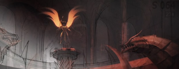 "Go Behind the Scenes of ""Diablo III: Wrath"""