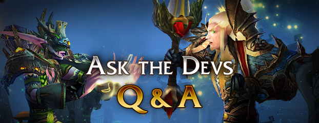 Ask the Devs — Now Closed