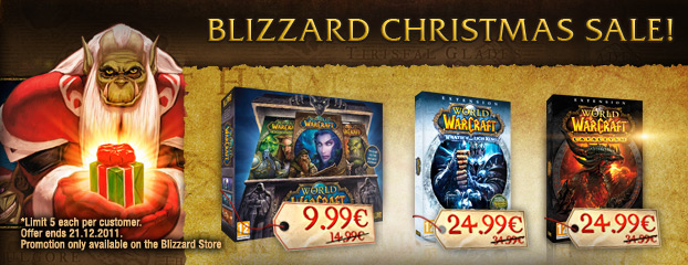 Blizzard Holiday Sale!