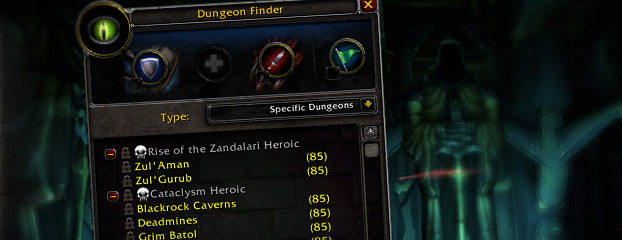 4.1 Preview -- Dungeon Finder: Call to Arms