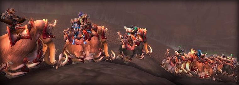 Mammoths on Parade
