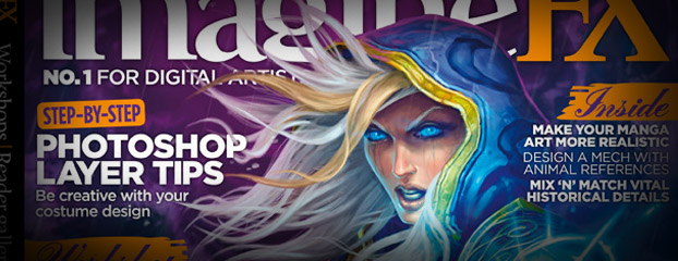 ImagineFX Gets Exclusive with the Blizzard's Fine Arts Project