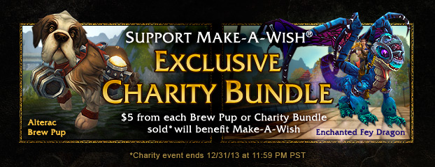 New Mount and Make-A-Wish® Charity Pet Now Available