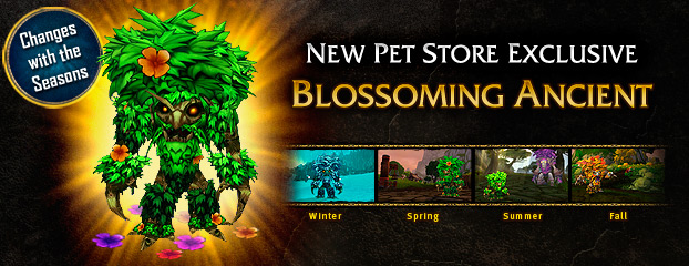 Blossoming Ancient—New Pet Store Exclusive Now Available
