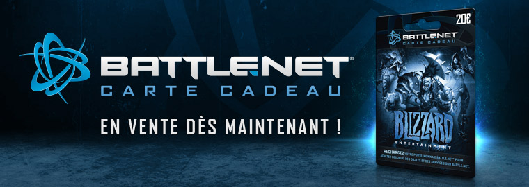 La carte cadeau Battle.net