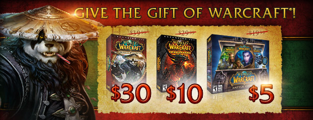 Give the Gift of Warcraft - Sale Ended